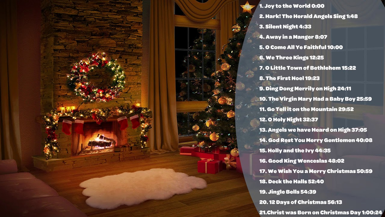 Christmas Music 2020 Top Christmas Songs Playlist Merry Christmas Youtube