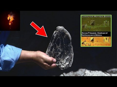 """Electrical Material"" Found In The Pyramids?"