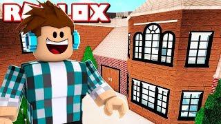 MINHA NOVA CASA NO ROBLOX !! ( Lumber Tycoon 2 )
