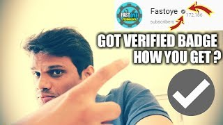 I Got Youtube Verified Badge  L How You Get? L Tips & Steps