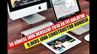 2018 EN GÜNCEL JAVA DERS SERİSİ [8.BÖLÜM]  CONSTRUCTOR  YAPILANDIRICI METOT KAVRAMI