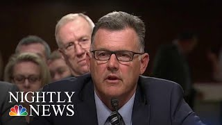 Former USA Gymnastics CEO Arrested On Tampering Charges In Abuse Probe | NBC Nightly News