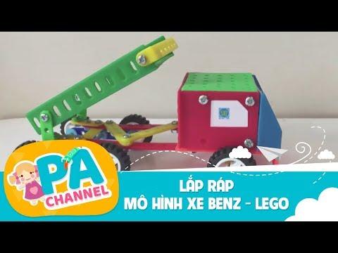 KỸ THUẬT LỚP 5 - HƯỚNG DẪN LẮP RÁP MÔ HÌNH XE BENZ - LEGO GAME TRÒ CHƠI LẮP RÁP