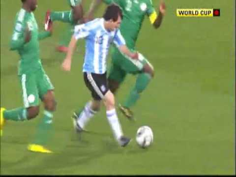 Argentina Nigeria Highlights World Cup 2010