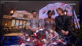 Vanessa James and Morgan Cipres FRA Free Skate SP ISU Europeans 2018 (4th place) French audio