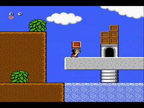 Chip 'n Dale Rescue Rangers Nes Full Playthrough ♛ No Death Run