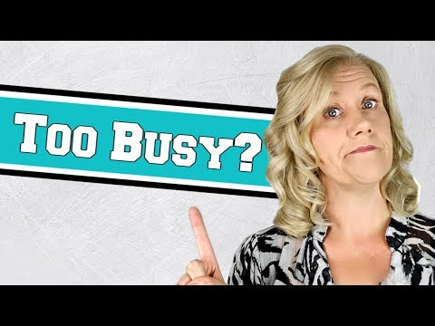How to Stop Over Scheduling Yourself || Organize Your Time