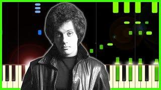 BILLY JOEL - NEW YORK STATE OF MIND - Piano Tutorial + Sheet Music