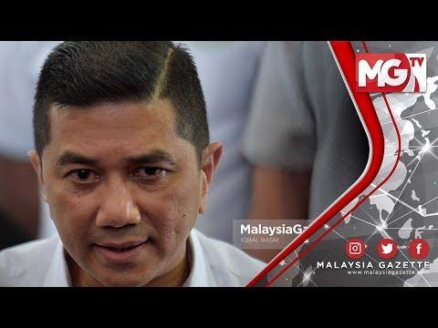 """TERKINI : """"Menyokong Tun Dr Mahathir! Adalah Tugas Saya"""" - Azmin Ali"""