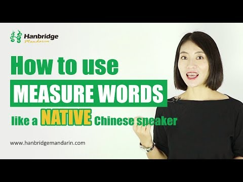 Use Measure Word Like a Native Chinese Speaker Part 1