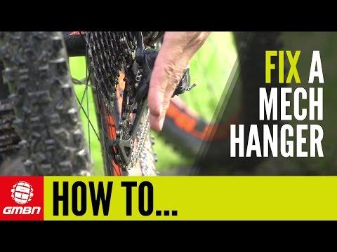 How To Fix A Broken Mech Hanger | Trailside Maintenance