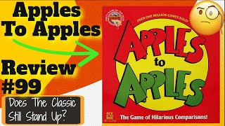 Gambar cover Bower's Game Corner: Apples To Apples Review