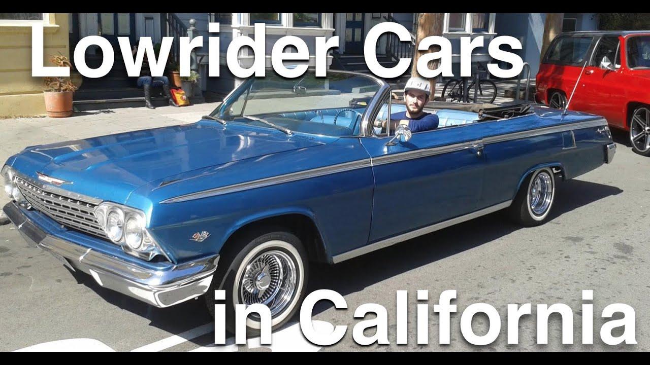 lowrider cars at 2015 carnaval in san francisco california