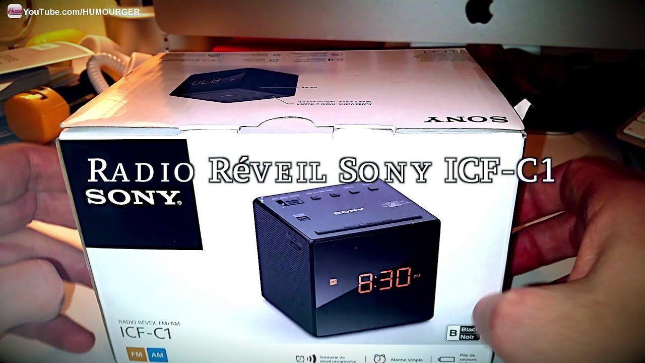 sony alarm clock icf c1 instructions