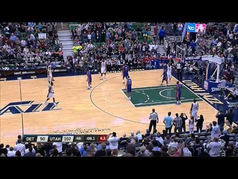 Al Jefferson 33 point game vs. Pistons 3.12