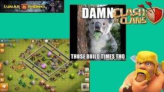 Lets Play Clash Of Clans! - Episode 11! Damn those build times!
