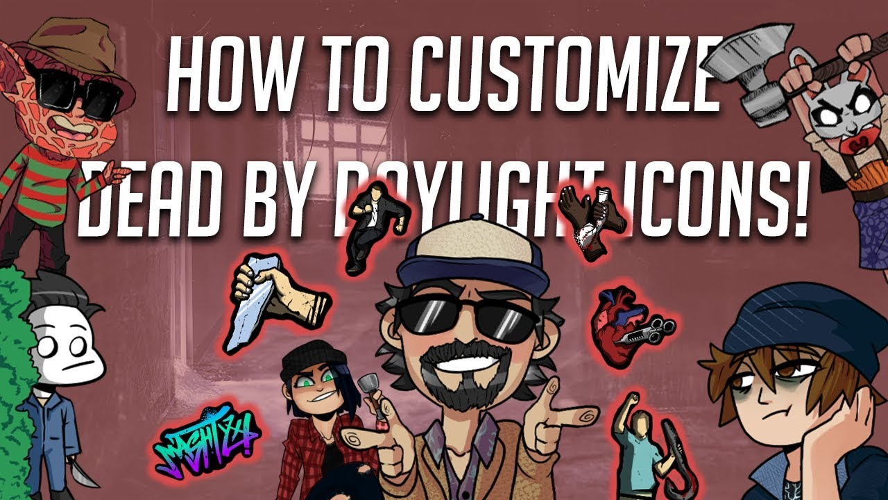 Customizing Dead By Daylight Icons! | Tutorial