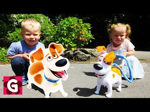Thumbnail: Little Baby Playing on the Playground / BINGO Dog SONG / Baby Nursery Rhymes Song