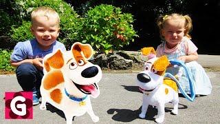 Gaby and Alex - BINGO Dog kids song