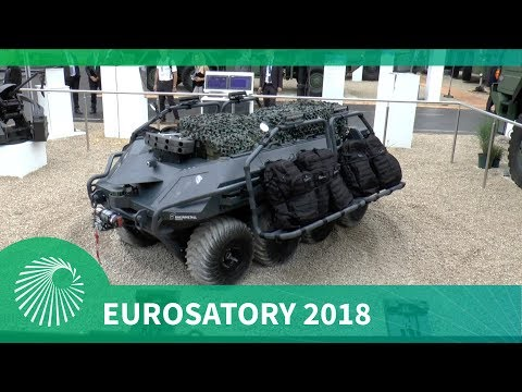 Eurosatory 2018: Rheinmetall Canada unveil their new UGV Mission Master