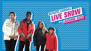 Day 1 - Olympic Channel Live Show ft. TBJZL & Sky Brown | Lausanne 2020