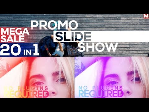 Fast Promo Slideshow | After Effects template