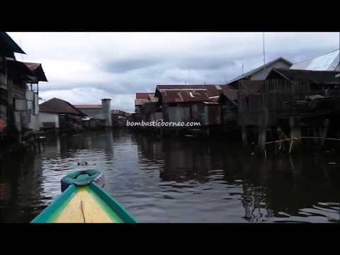 Canal Trip in Banjarmasin, South Kalimantan Travel