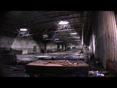 Exploring Abandoned Guitar Factory - EQUIPMENT LEFT BEHIND