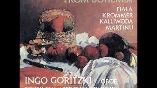 Franz Krommer: Concerto in F Major Op. 37 for Oboe & Orchestra / Ingo Goritzki