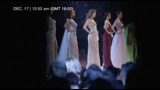 Preparations and behind the scenes of Miss Universe 2018