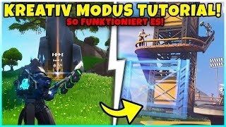 This is how Creative Mode works! (TUTORIAL) - You have to KNOW! - Fortnite Season 7 Battle Pass