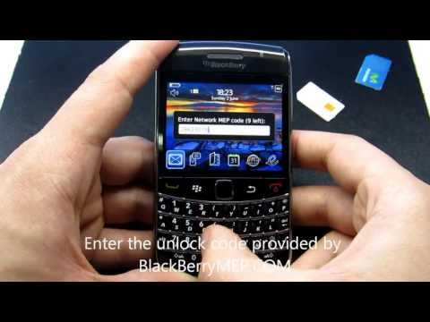 How To Unlock BlackBerry Bold 9700 ?