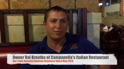 Our Town America Testimonial: Campanella's Restaurant