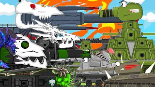 All series KV-44 fifth part League of Evil: Cartoons about tanks
