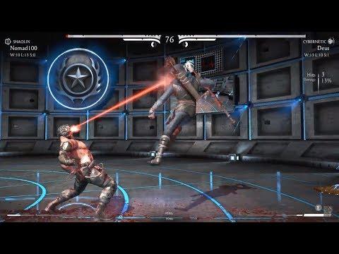 Nomad100 (Kung Jin/Shaolin) vs Deus (Kano - Commando/Cybernetic)