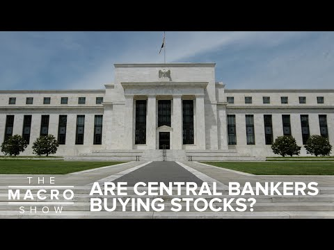 Are Central Bankers Buying Stocks?