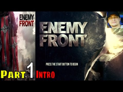 Enemy Front Walkthrough Gameplay Part 1 Intro PS3 lets play playthrough   Live Commentary