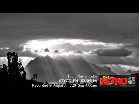 103.5 Retro Cebu sign on