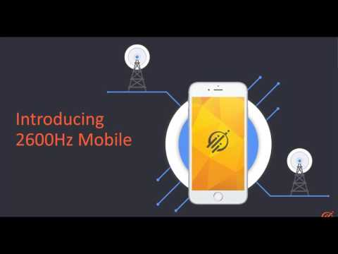 2600Hz Mobile Webinar:  The Next Generation of Mobile Business Services
