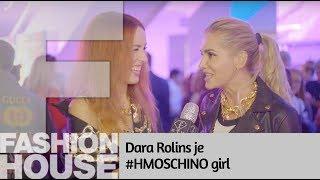 Dara Rolins je #HMOSCHINO Girl!
