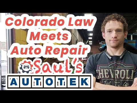 The Colorado Law on Auto Repair in Denver and your rights.