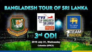 3rd ODI, Sri Lanka vs Bangladesh: Bangladesh tour of Sri Lanka 2019