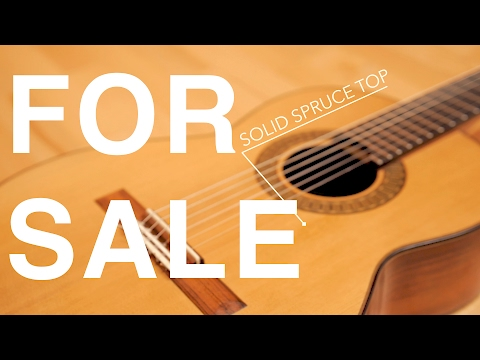 Selling my spruce top guitar (Update: SOLD)