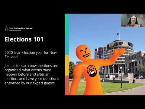 Elections 101: Webinar | NZ Parliament