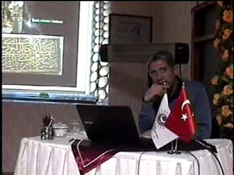 Yrd. Doç. Dr. Hattat Ali Rıza Özcan - Konu: İstanbul'un 100 Kitabesi