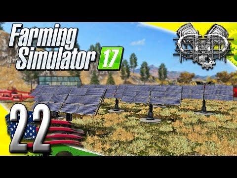 Farming Simulator 2017 Gameplay :EP22: Solar Field & Multiplayer Talk! (PC HD American Outback)