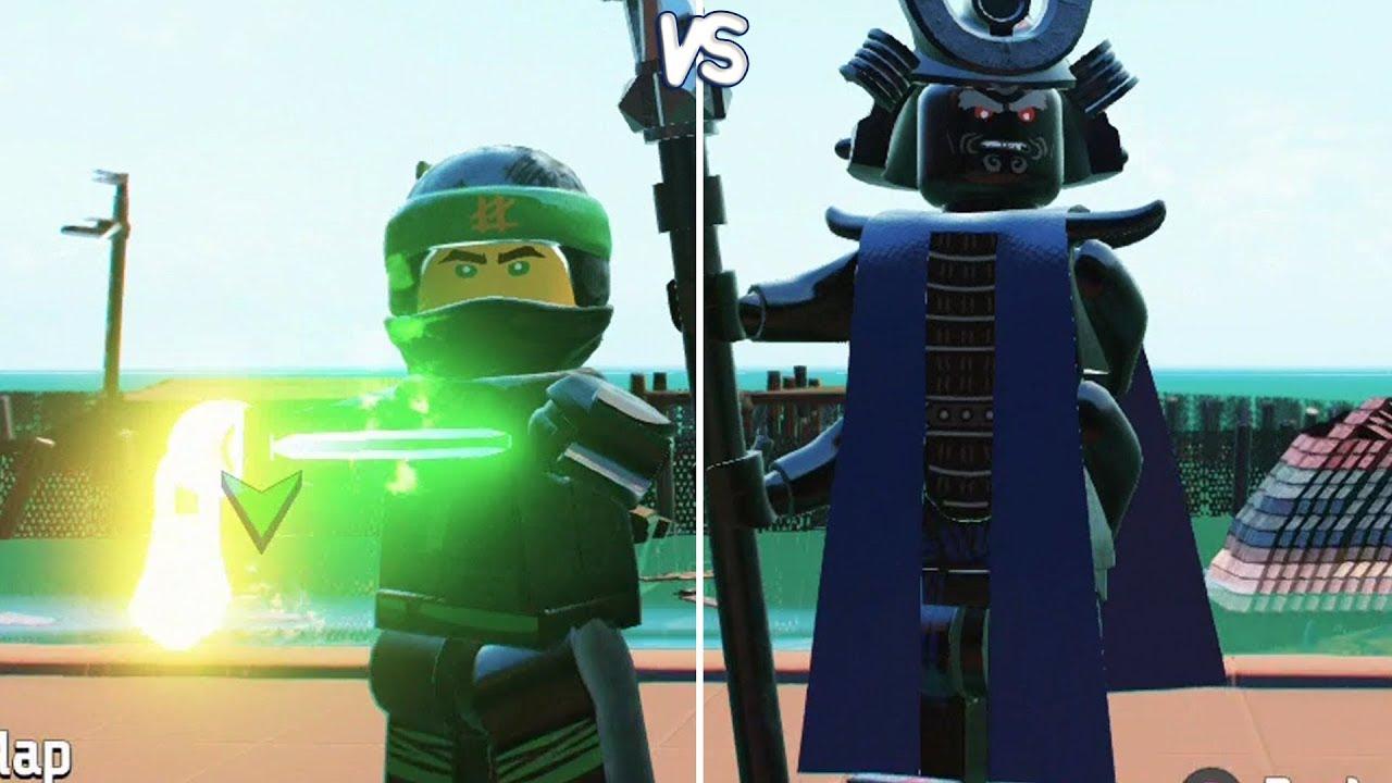 Lego ninjago movie video game lloyd vs lord garmadon - Ninjago vs ninjago ...