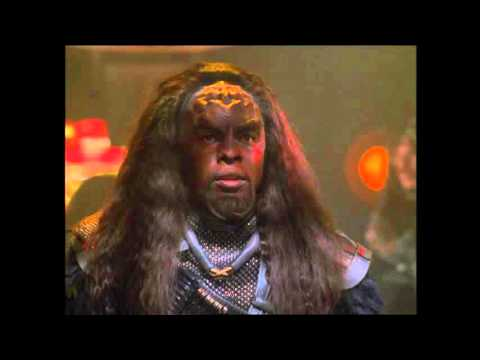 "Star Trek Voyager - Voyager attacked by Klingon battle cruiser ""Prophecy"""