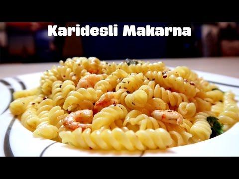 Karidesli Makarna Tarifi | Pişirmece | Yemek Tarifleri