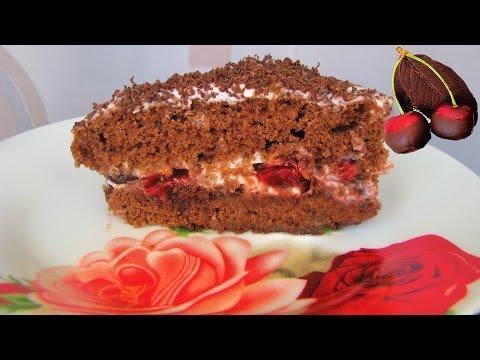 В микроволновке. Шоколадный тортик за 4 минуты!!! Нежная выпечка, волшебно вкусно!